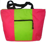 2 Toned Zippered Tote.